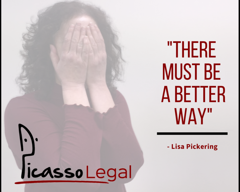 """There must be a better way"" - Why did Lisa launch Picasso Legal?"